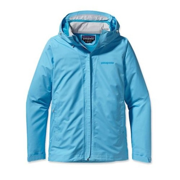 Damska Kurtka Patagonia Storm Jacket Light Blue