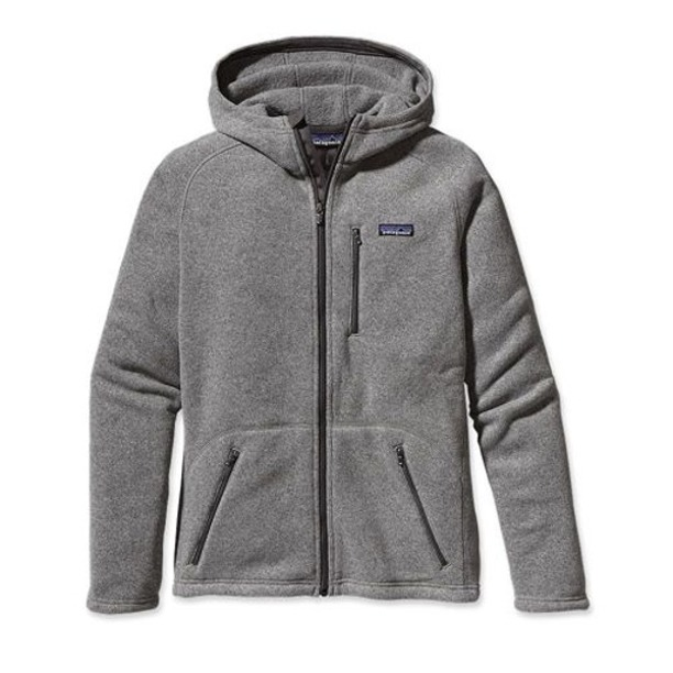 Polar Patagonia Better Sweater Hoody Grey