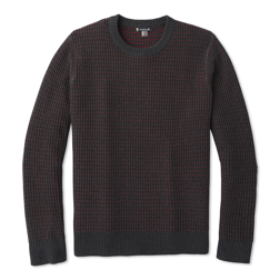 Męski Sweter Smartwool Ripple Ridge Tick Stitch Crew Sweater