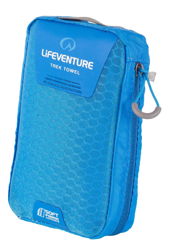 SoftFibre Advance Trek Towel Large, Blue LIFEVENTURE ręcznik niebieski