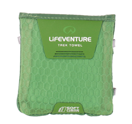 SoftFibre Advance Trek Towel Pocket, Green LIFEVENTURE ręcznik zielony