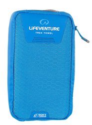 SoftFibre Advance Trek Towel X Large, Blue LIFEVENTURE ręcznik niebieski