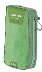 SoftFibre Advance Trek Towel X Large, Green LIFEVENTURE ręcznik zielony