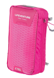 SoftFibre Advance Trek Towel X Large, Pink LIFEVENTURE ręcznik różowy