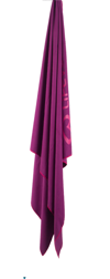 SoftFibre Lite Trek Towel Large, Purple LIFEVENTURE ręcznik fiolet
