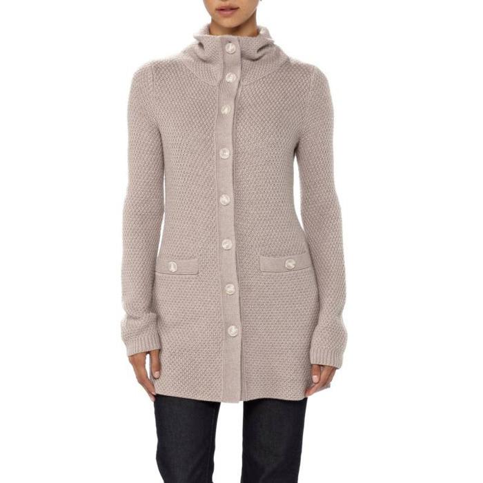 95151a29519052 Długi damski sweter z wełny merino Patagonia Cardigan · Długi damski sweter  z wełny ...